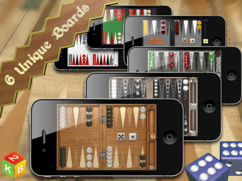 Backgammon masters test